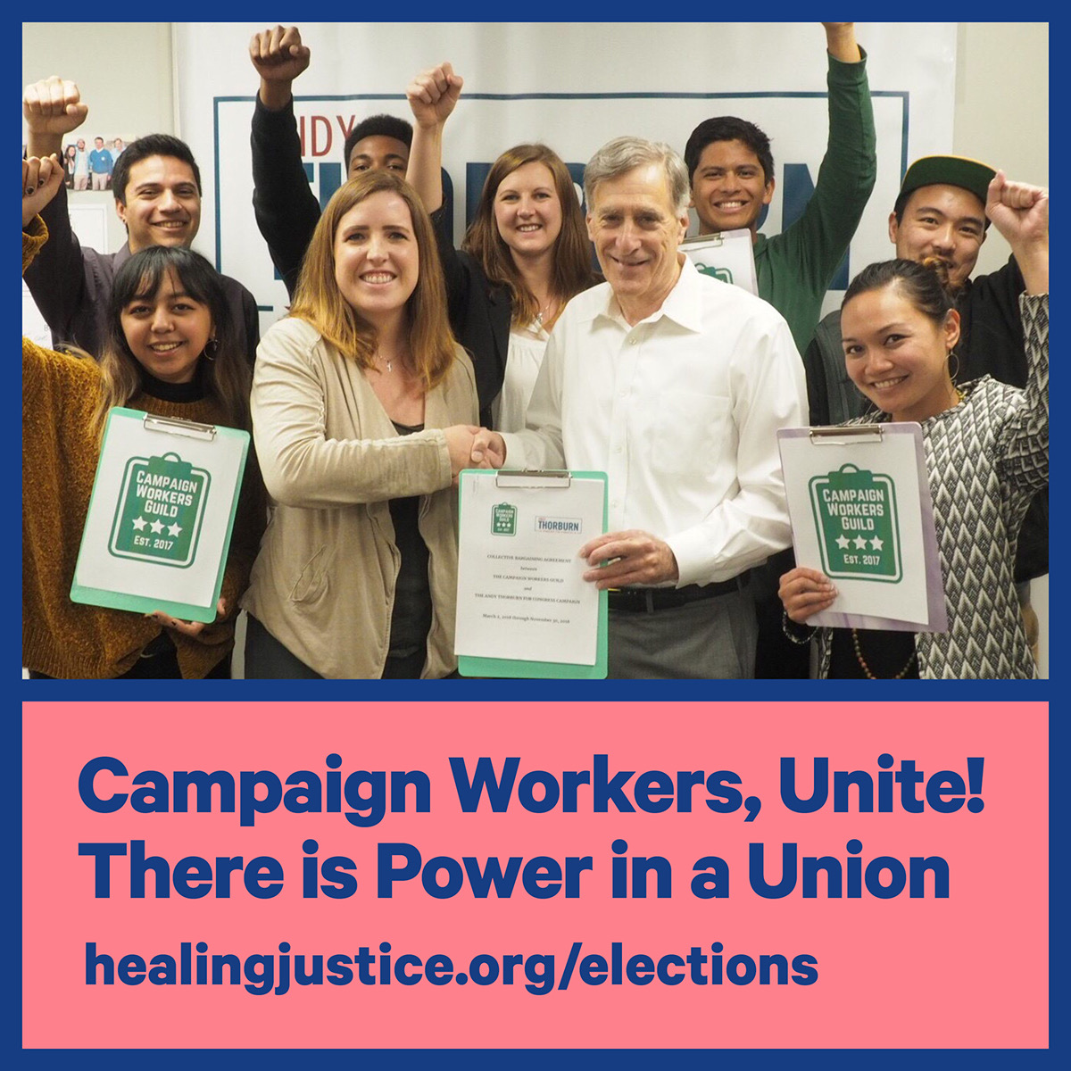 Campaign Workers, Unite! There is Power in a Union (with Meg Reilly of Campaign Workers Guild & Shanequa Charles)