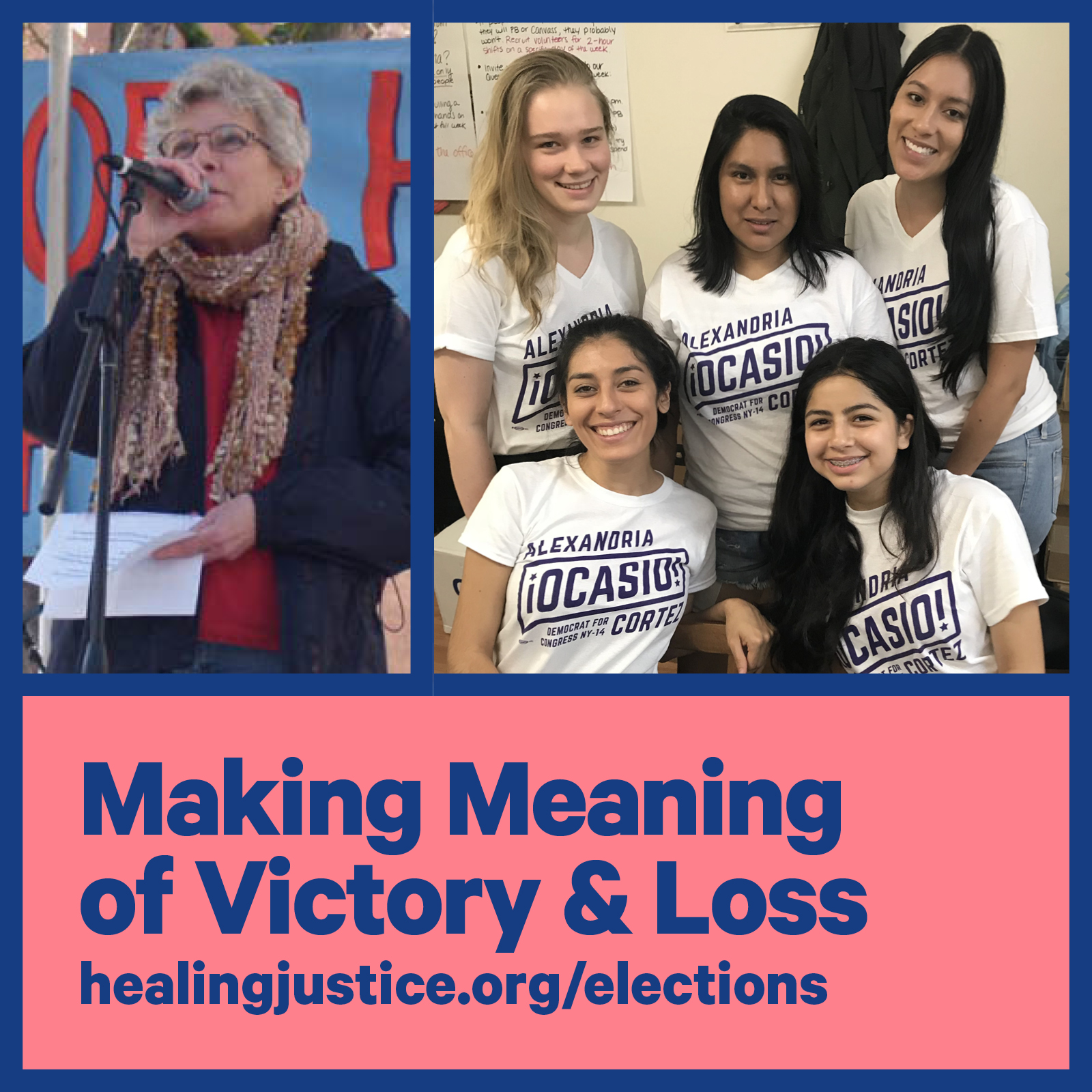 Making Meaning of Victory & Loss with Maurice Mitchell (Working Families Party), Barbara Dudley (lifelong activist), & Alexandra Rojas (Justice Democrats)