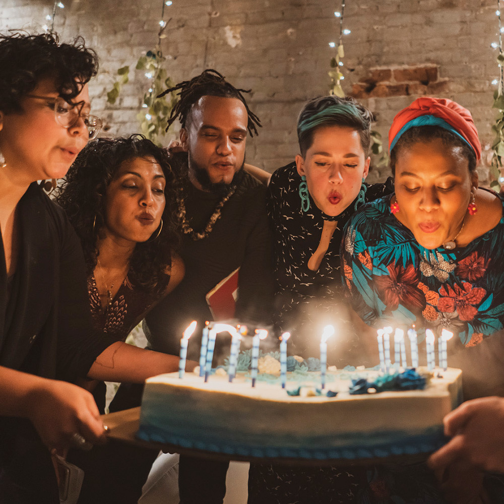 LIVE from our 1st Birthday Party (with Jillian White, Alexis Francisco, Sumitra Rajkumar, & The Peace Poets)