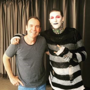Chris Motionless from Motionless In White/LA Lloyd interview