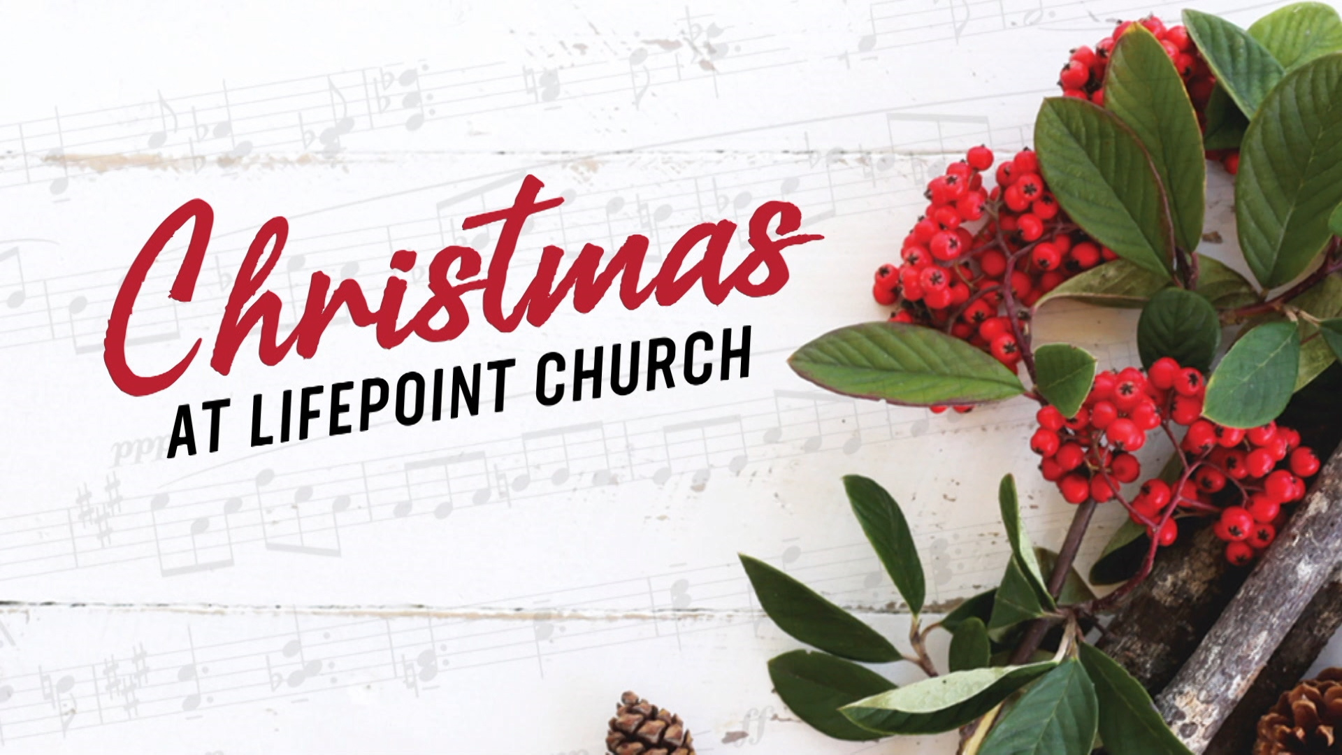 Christmas at LifePoint: A Thrill of HOPE