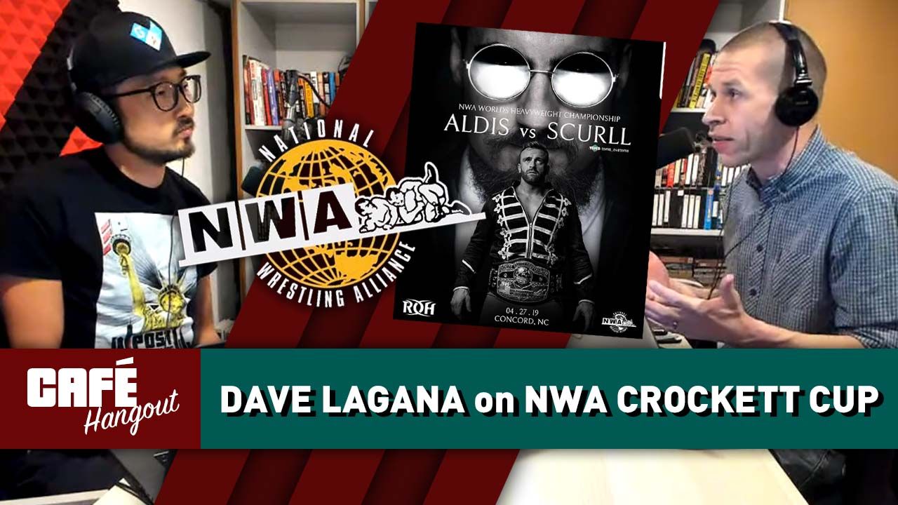 David Lagana on NWA's reality-based storytelling, Crockett Cup | Café Hangout (4/18/19)