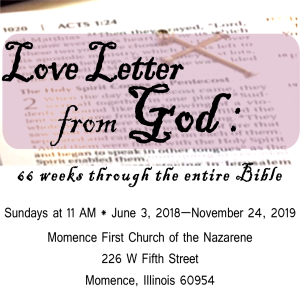 Love Letter From God: Zephaniah 3:14-20; John 3:16 - The God Who Sings
