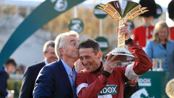 Davy Russell speaks about his historic Grand National win