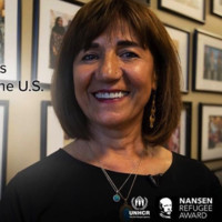 Samira Harnish - Nansen 2018 Americas Award - Supporting female refugees to become self-reliant