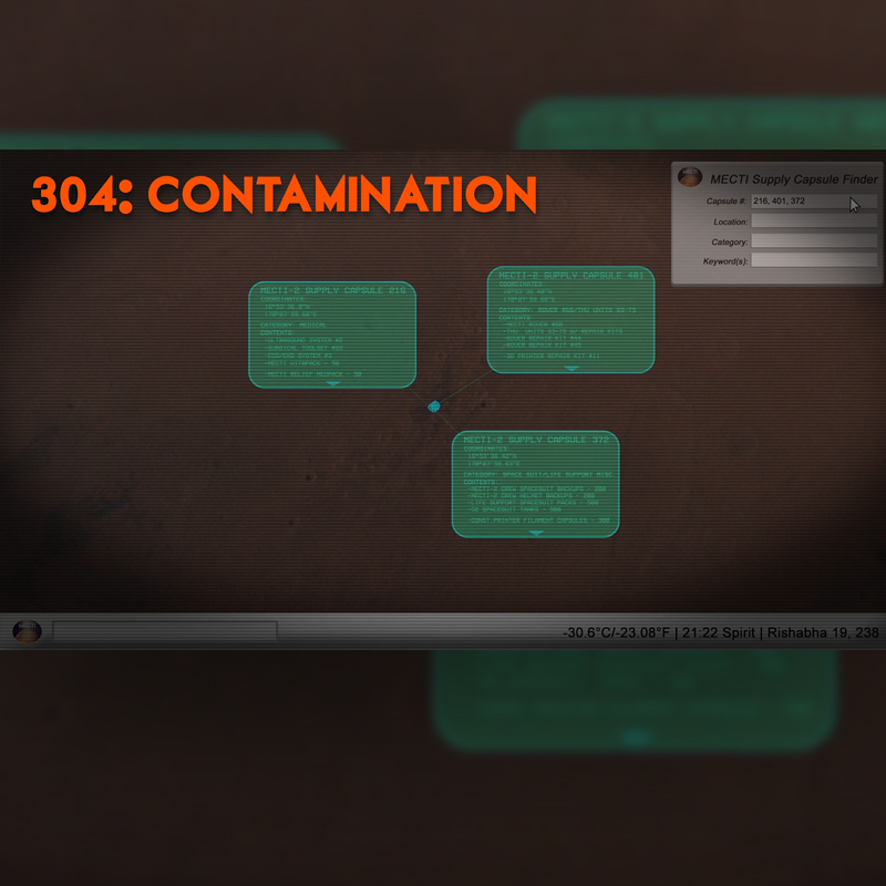 Episode 304 - Contamination