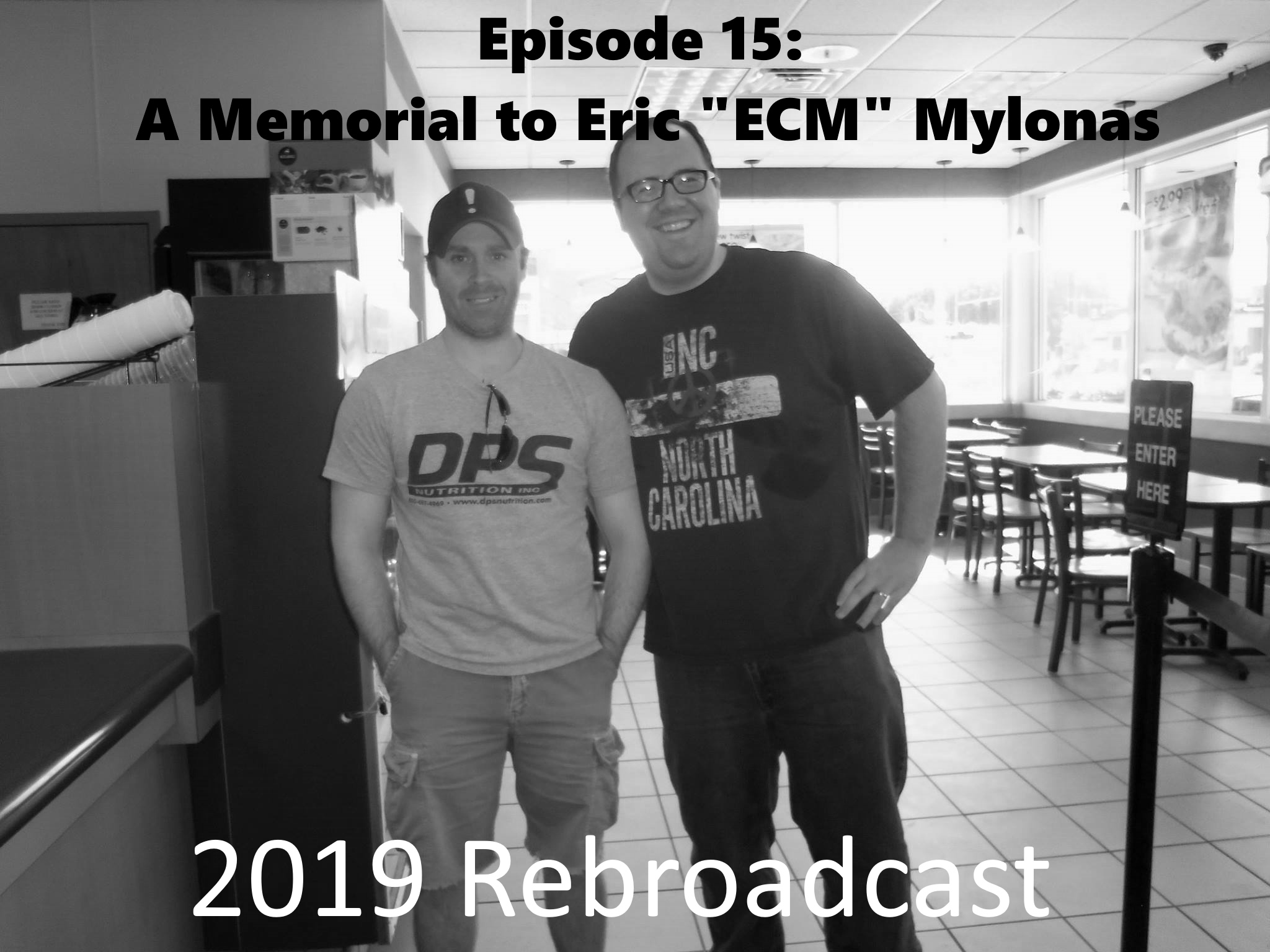 "GSPC Episode: A Memorial to Eric ""ECM"" Mylonas: 2019 Rebroadcast with new forward."