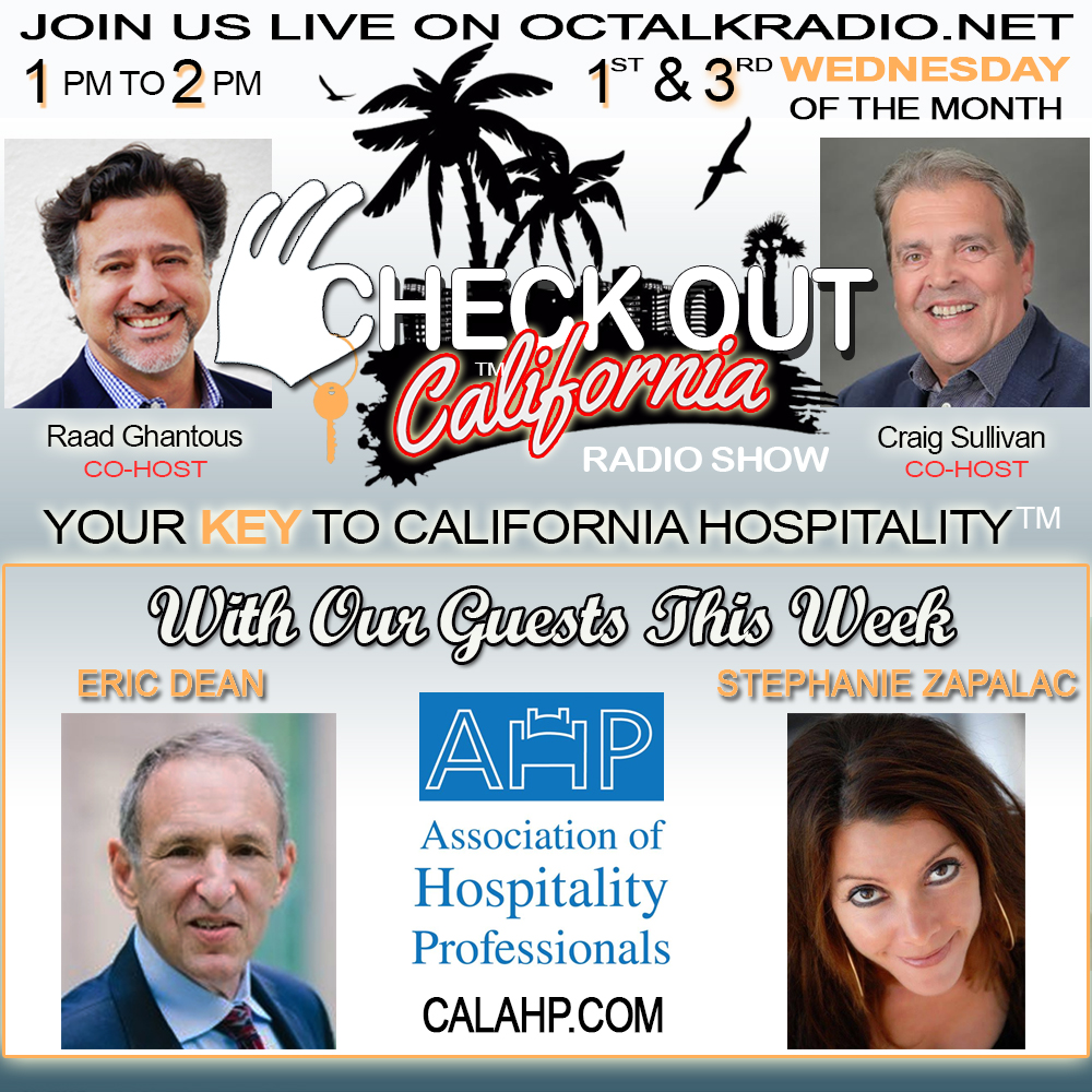 Episode #38-Eric Dean & Stephanie Zapalac, on the Check Out California Radio Show!