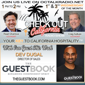 Episode #37- Dev Dugal, is on the Check Out California Radio Show!