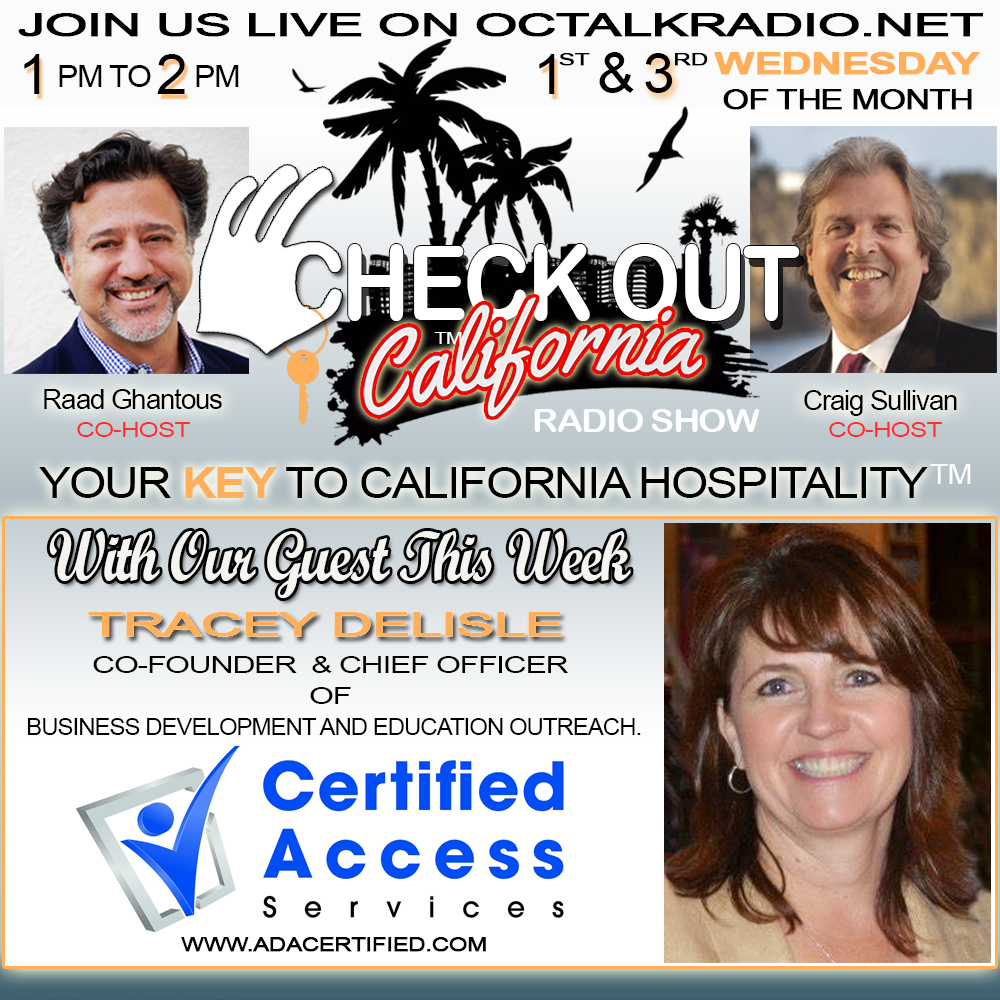 Episode #40-Tracy Delisle, on the Check Out California Radio Show! Includes special appearance by Rod Apodaca