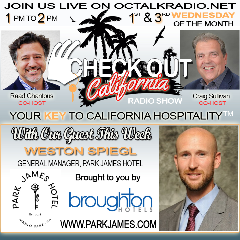 Episode #36-Weston Spiegl, on the Check Out California Radio Show! Includes special appearance by Rod Apodaca