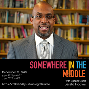 Somewhere in the Middle with Sports Writer and Author Jerald Hoover