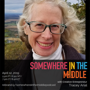 Somewhere in the Middle Welcomes Creative Entrepreneur Tracey Arial