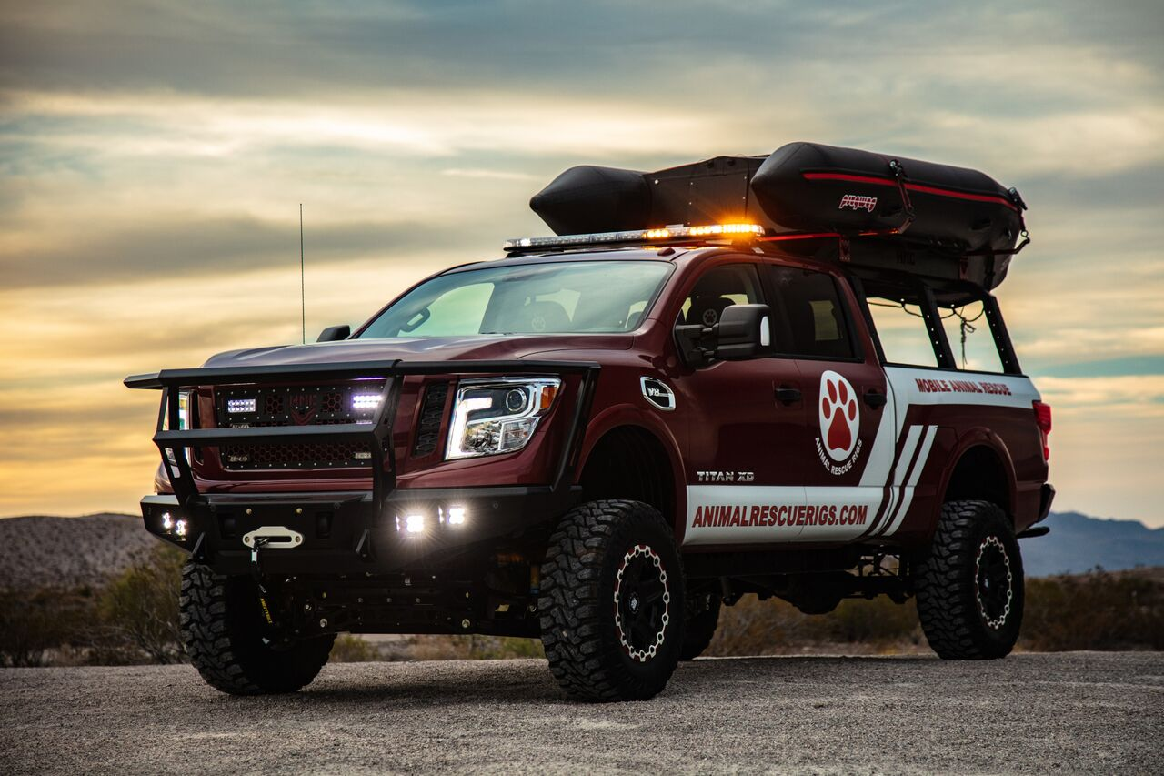10-28-18 Special Edition Nissan Titan Paws 1