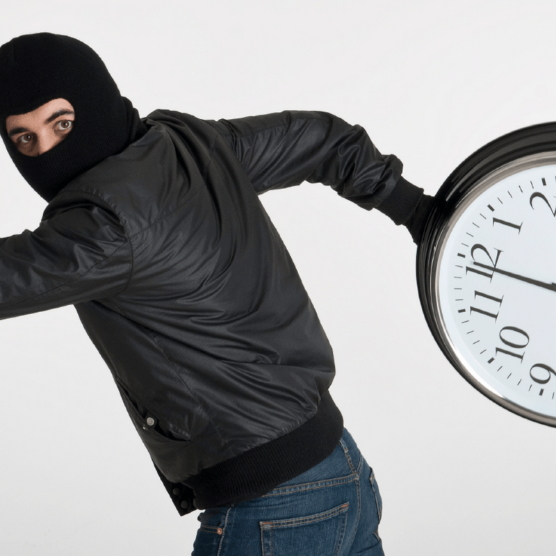 #08 Dealing With Time Robbers & Delegation