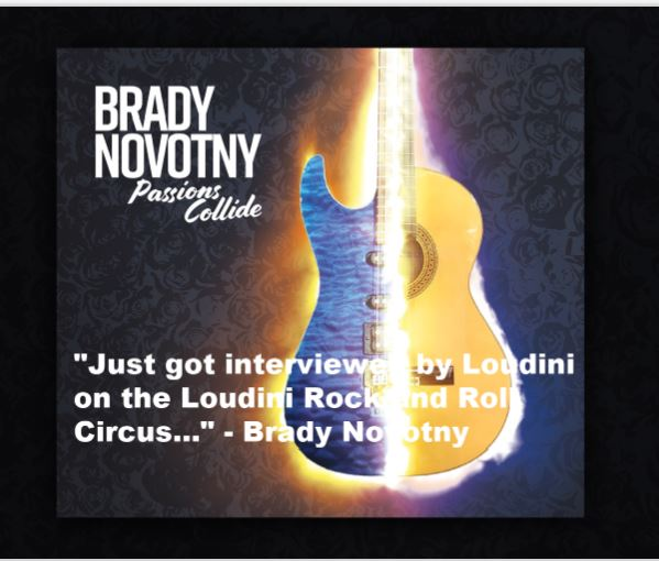 Brady Novotny mixes his passions for shred and flameco on his latest release