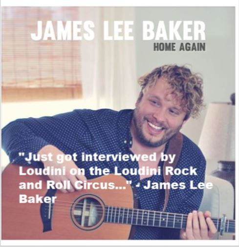 James Lee Baker finding the balance between folk and Americana
