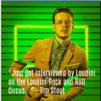 Tim Stout talks about his passion for songwriting and looping