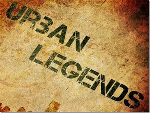 Rock's Urban Legends... Separating Fact from Fiction