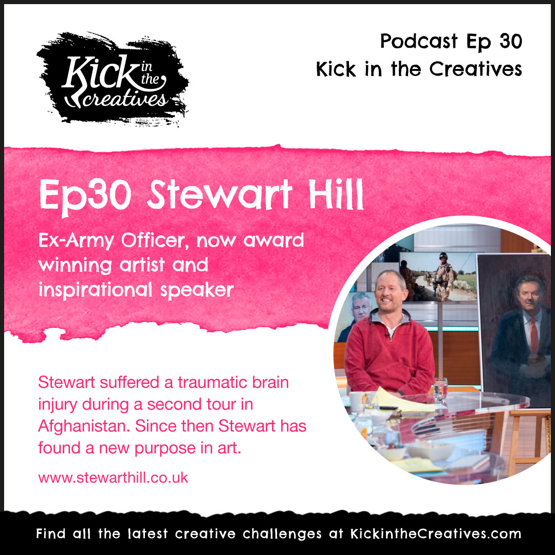 Ep 30 Inspirational Chat with Artist Stewart Hill