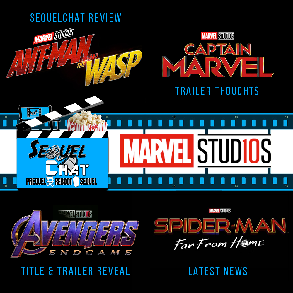 EP89 | Ant-man & the Wasp SequelChat Review PLUS Marvel Breaking News