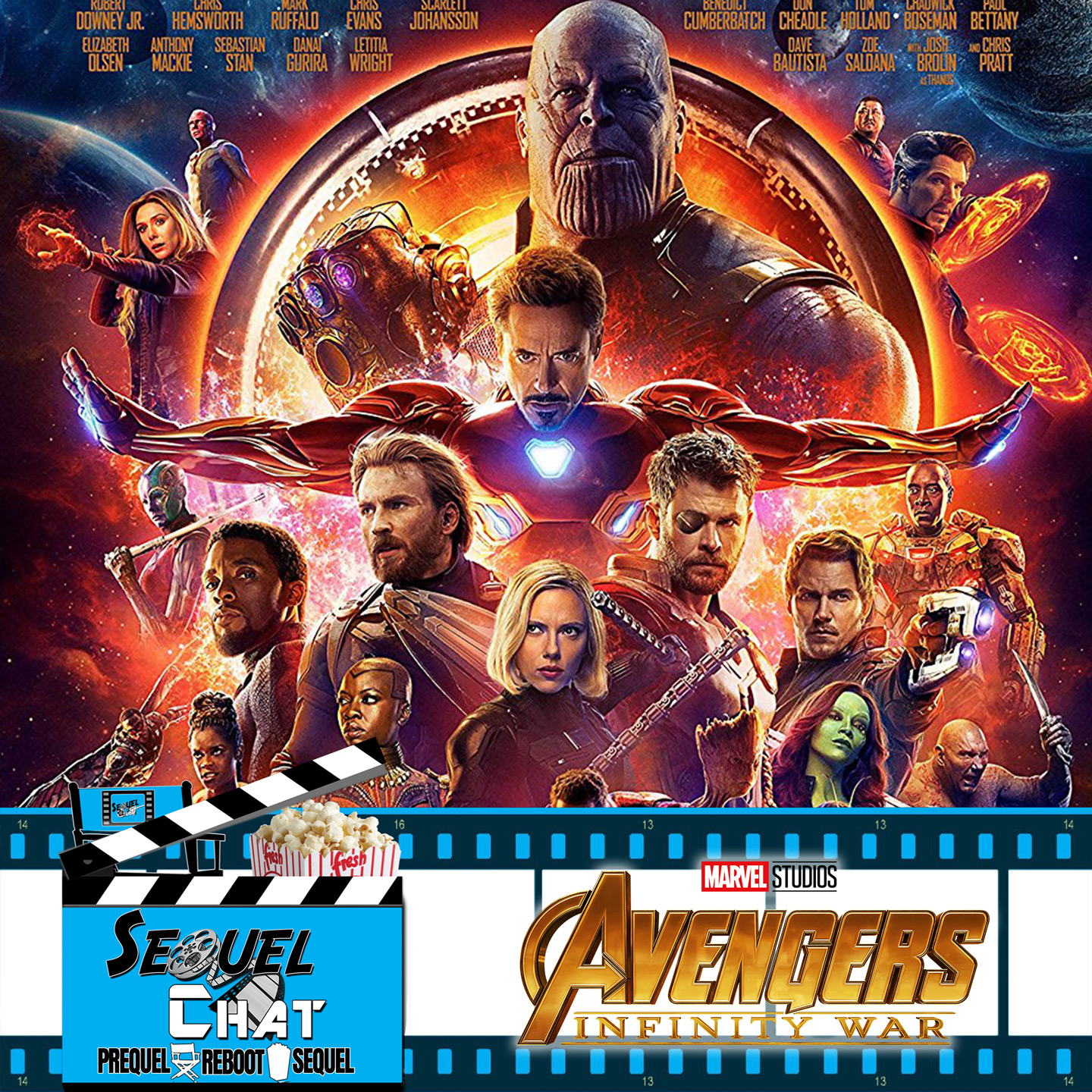 EP74 | SequelChat Review of Avengers: Infinity War | SequelQuest