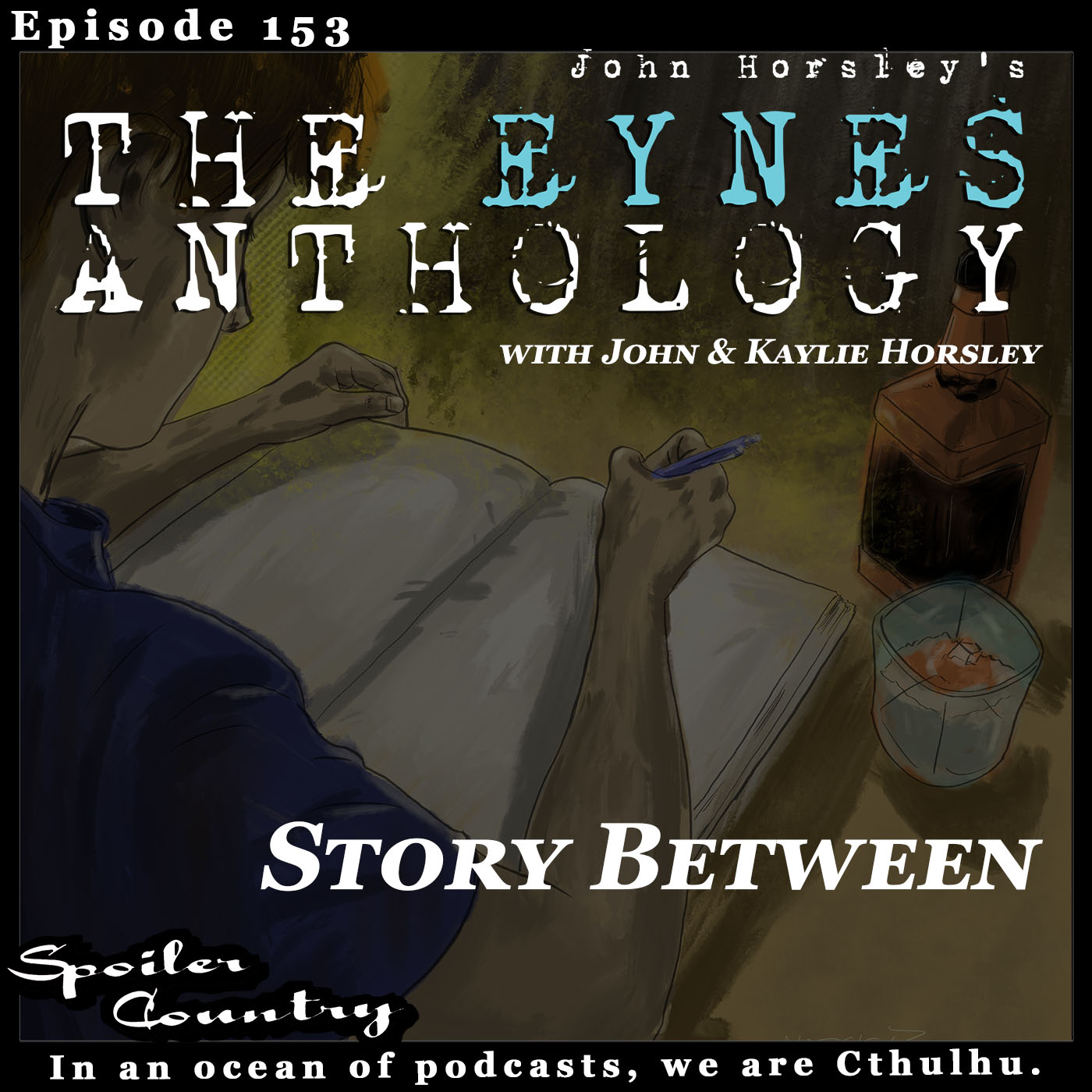 Story Between - Eynes Anthology Interview with John & Kaylie Horsley!