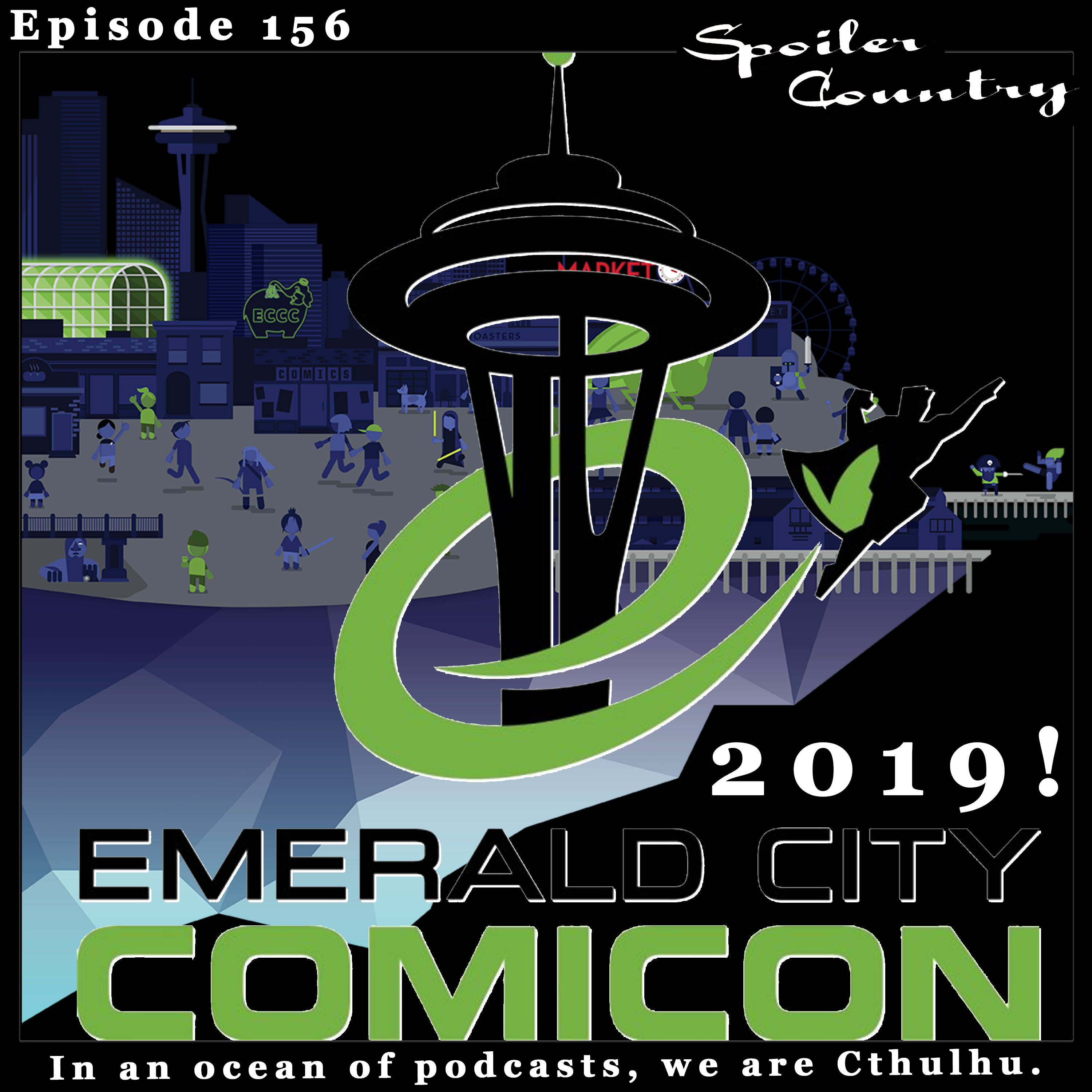 ECCC 2019 - Johns on a panel and random thoughts about the con!