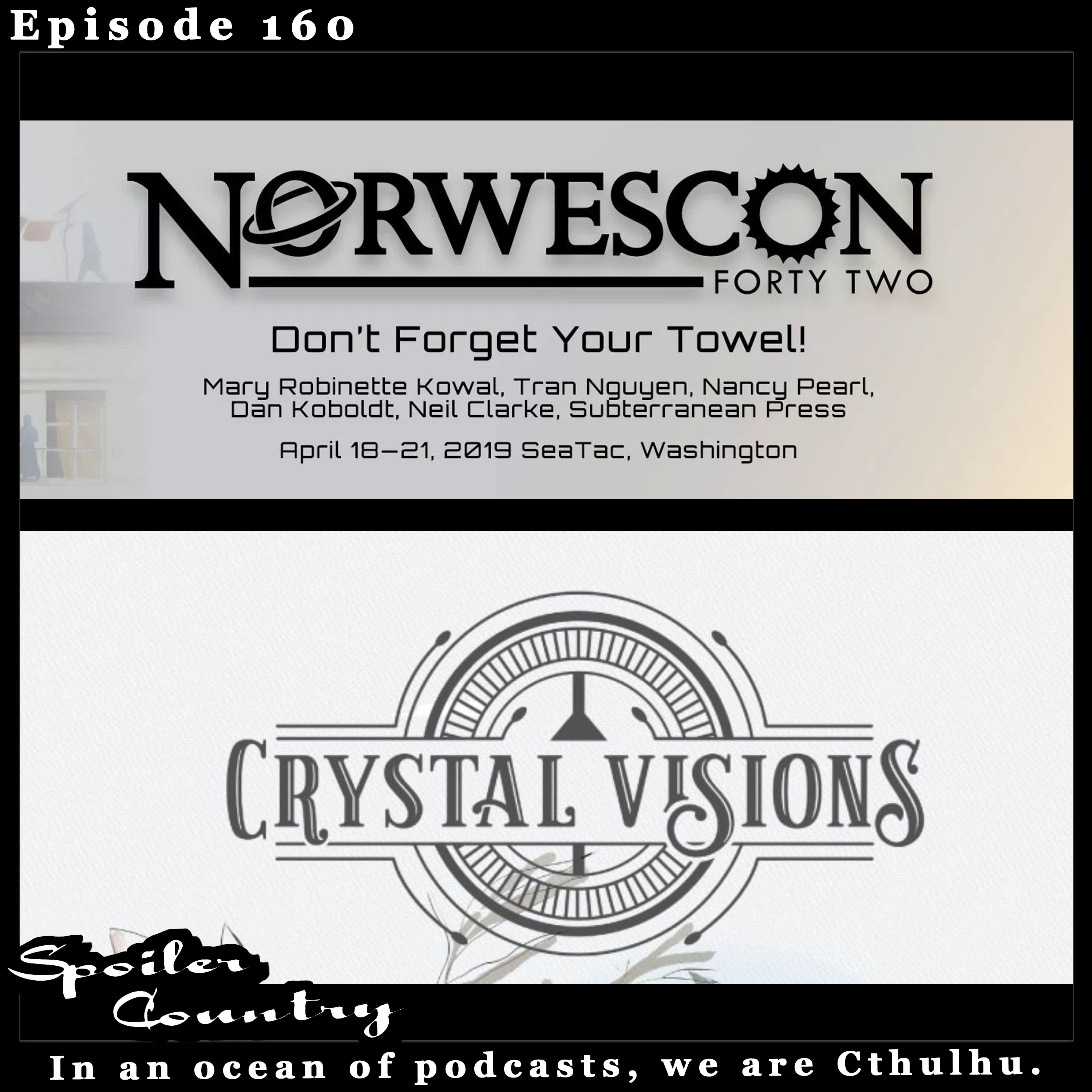 Norwescon with Michael Hanscom and Tiffany McLeod from Crystal Visions!