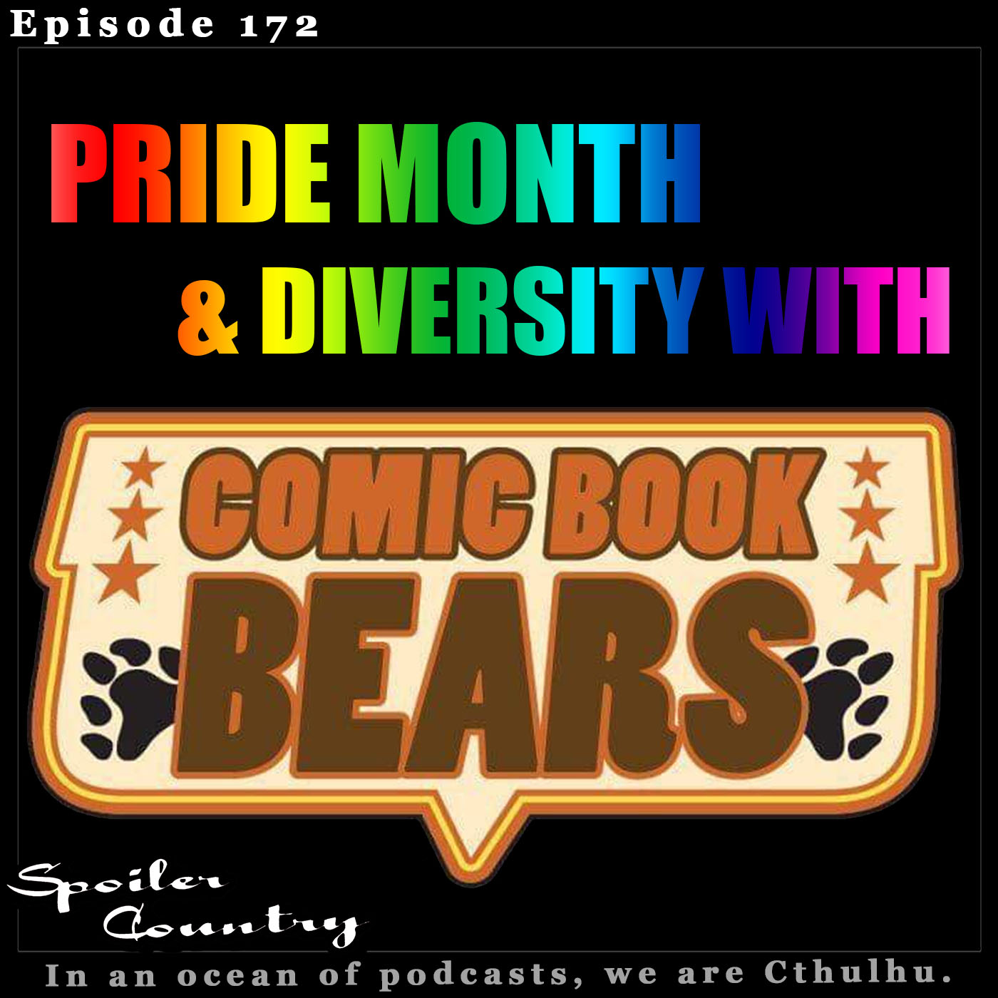 Pride Month with the Comic Book Bears!