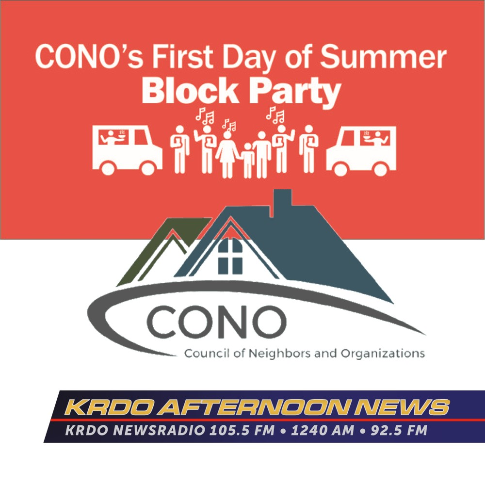 KRDO Afternoon News with Ted Robertson - CONO Block Party - June 11, 2019