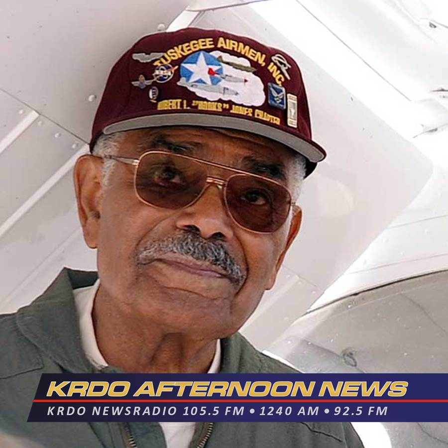 KRDO Afternoon News with Ted Robertson - Tuskegee Airman - June 6, 2019