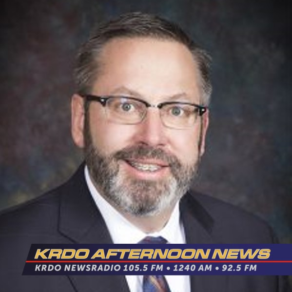 KRDO Afternoon News with Ted Robertson - El Paso County Commissioner, Mark Waller - June 10, 2019