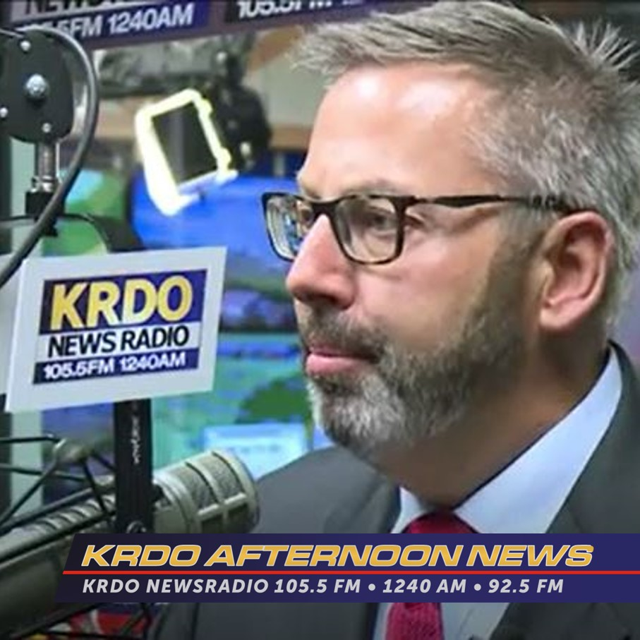 KRDO Afternoon News Exclusive - Mark Waller Confirms - 6-15-2019