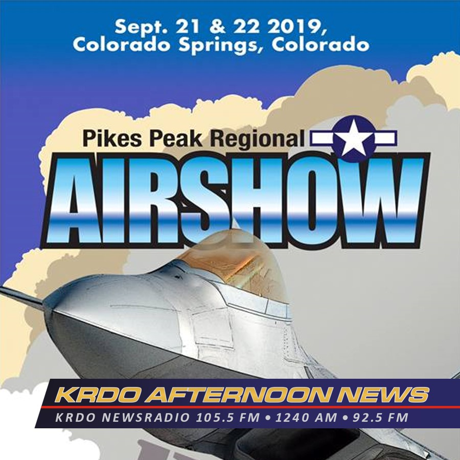 KRDO Afternoon News with Ted Robertson - Pikes Peak Regional Air Show - June 4, 2019