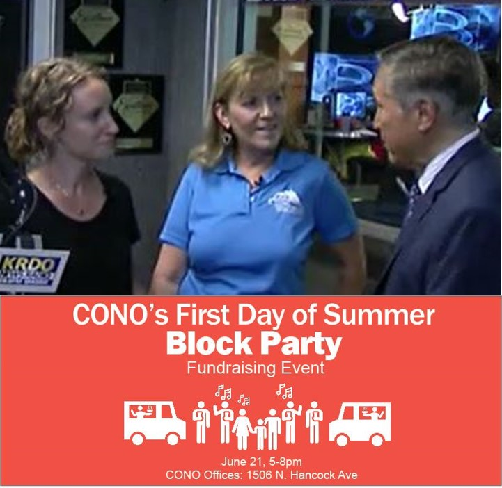 KRDO Noon News with Mike Lewis - CONO Block Party - June 6, 2019
