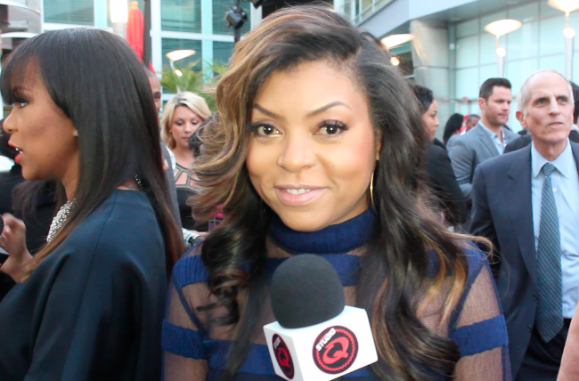 Quencie Interviews Taraji P. Henson - Studio Q Podcast