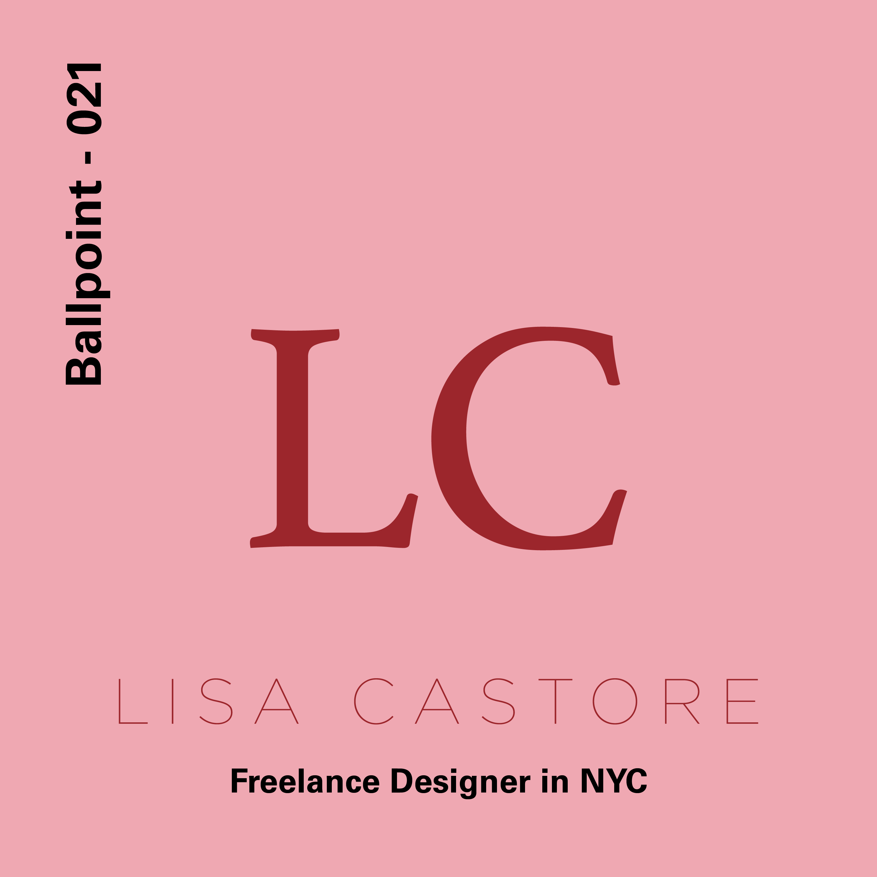 021 - Lisa Castore, Freelance Designer in RI