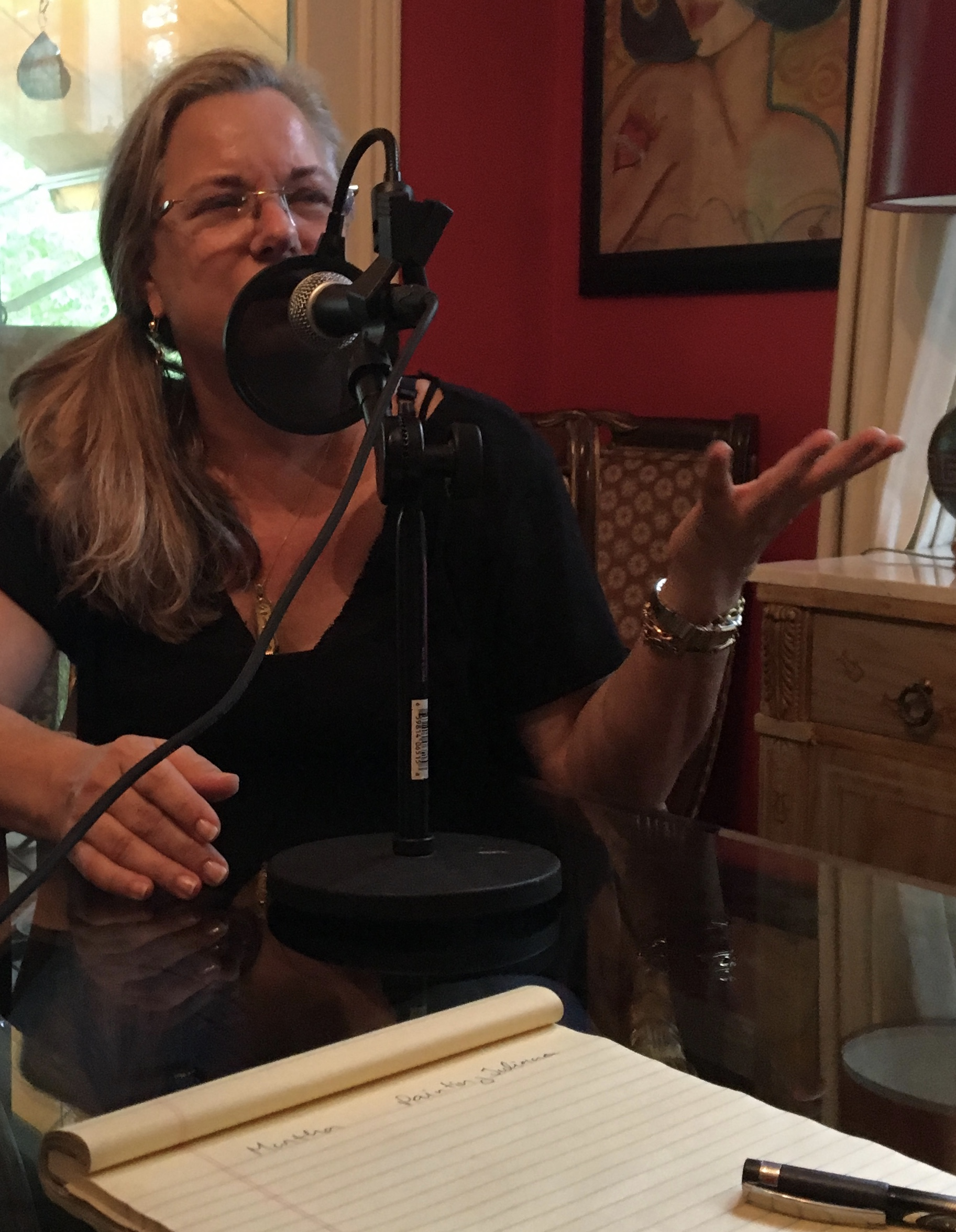 """Books & Radio"" RADAR TALK INTIMATE #14 Martha Louise Hunter"