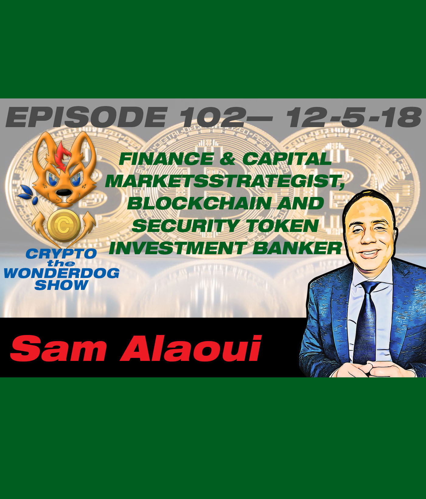 Finance & Capital Markets Strategist, a Blockchain and Security Token Investment Banker, Entrepreneur and Investor - Sam Alaoui