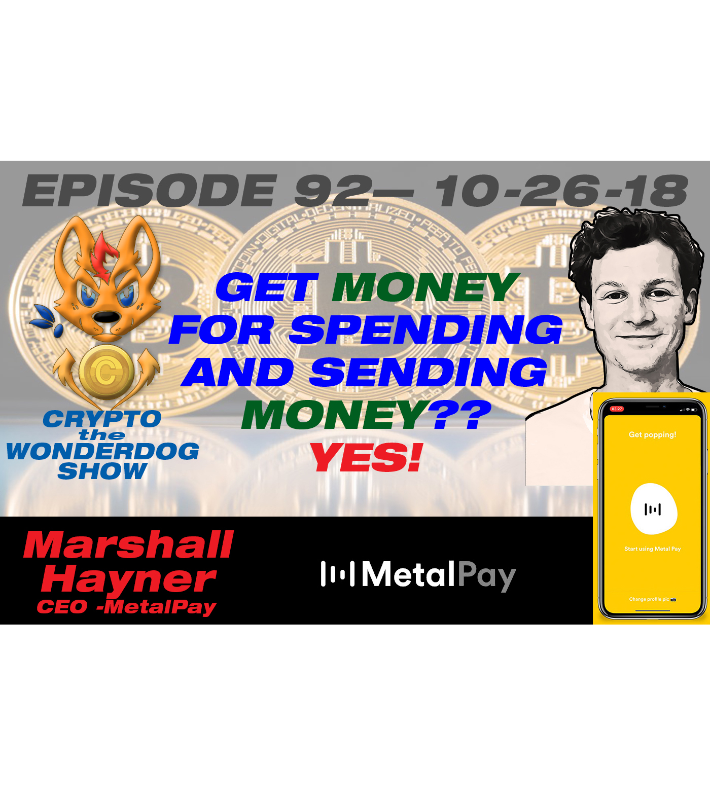 E92 - How you can earn cryptocurrency when youshop or pay your friends? YES! Metal Pay! FREE CRYPTOCURRENCY!