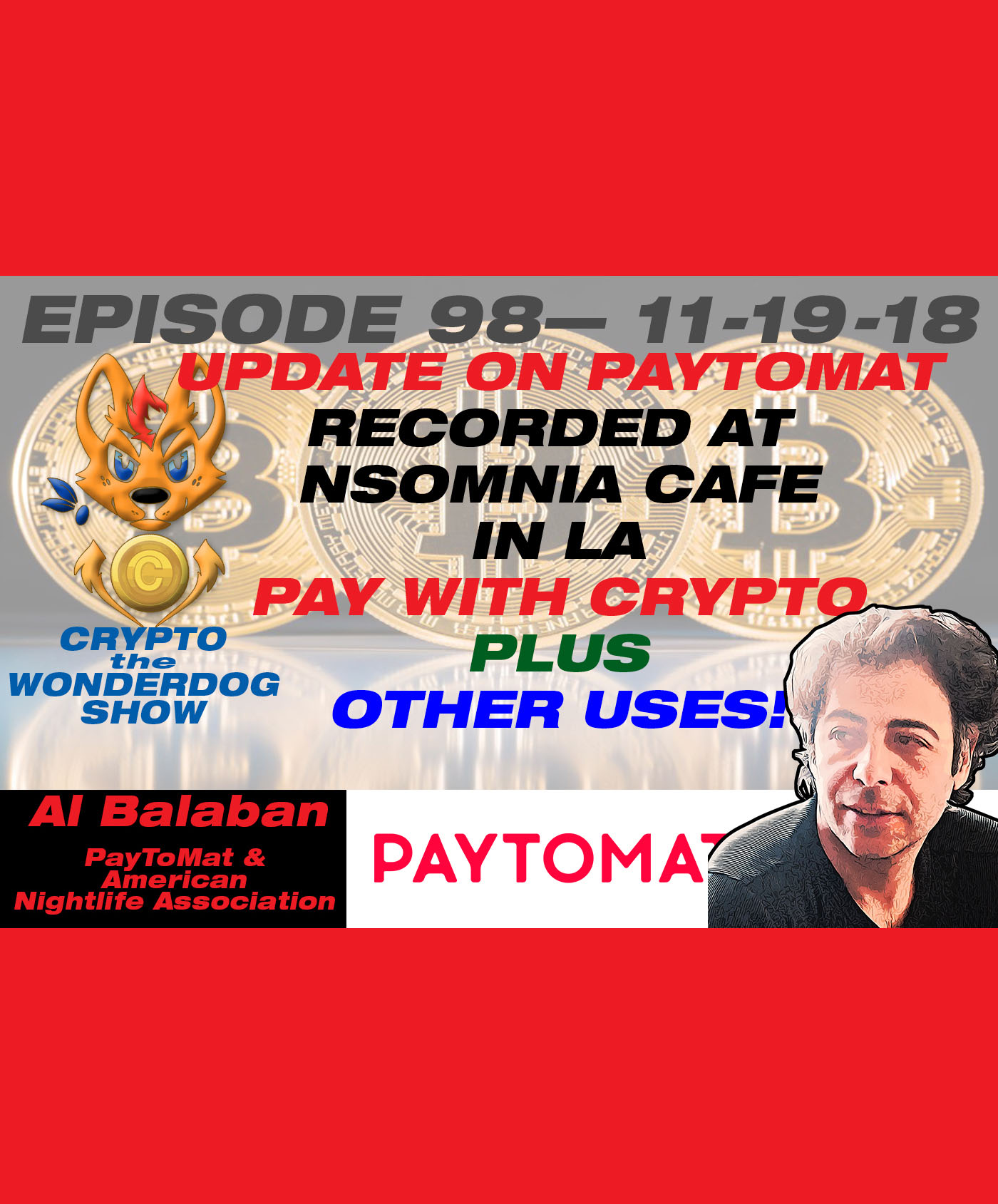 Pay for coffee with BITCOIN NOW! - (Faster Than CASH!) - PayToMat.com