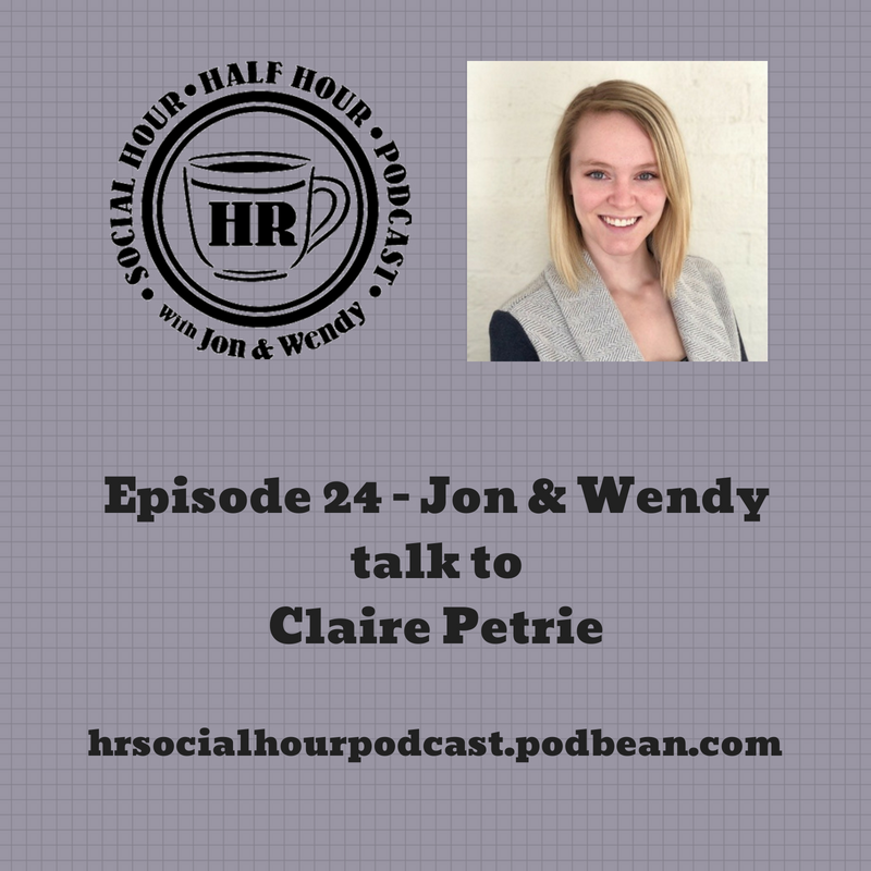 Episode 24 - Jon & Wendy talk to Claire Petrie