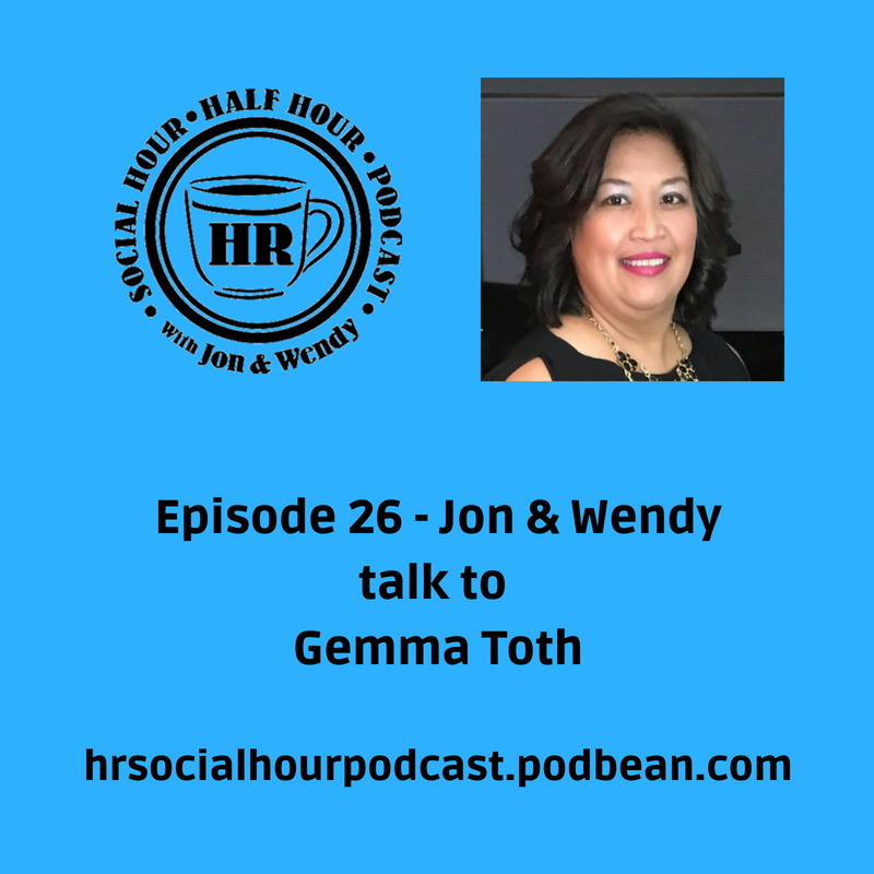 Episode 26 - Jon & Wendy talk to Gemma Toth