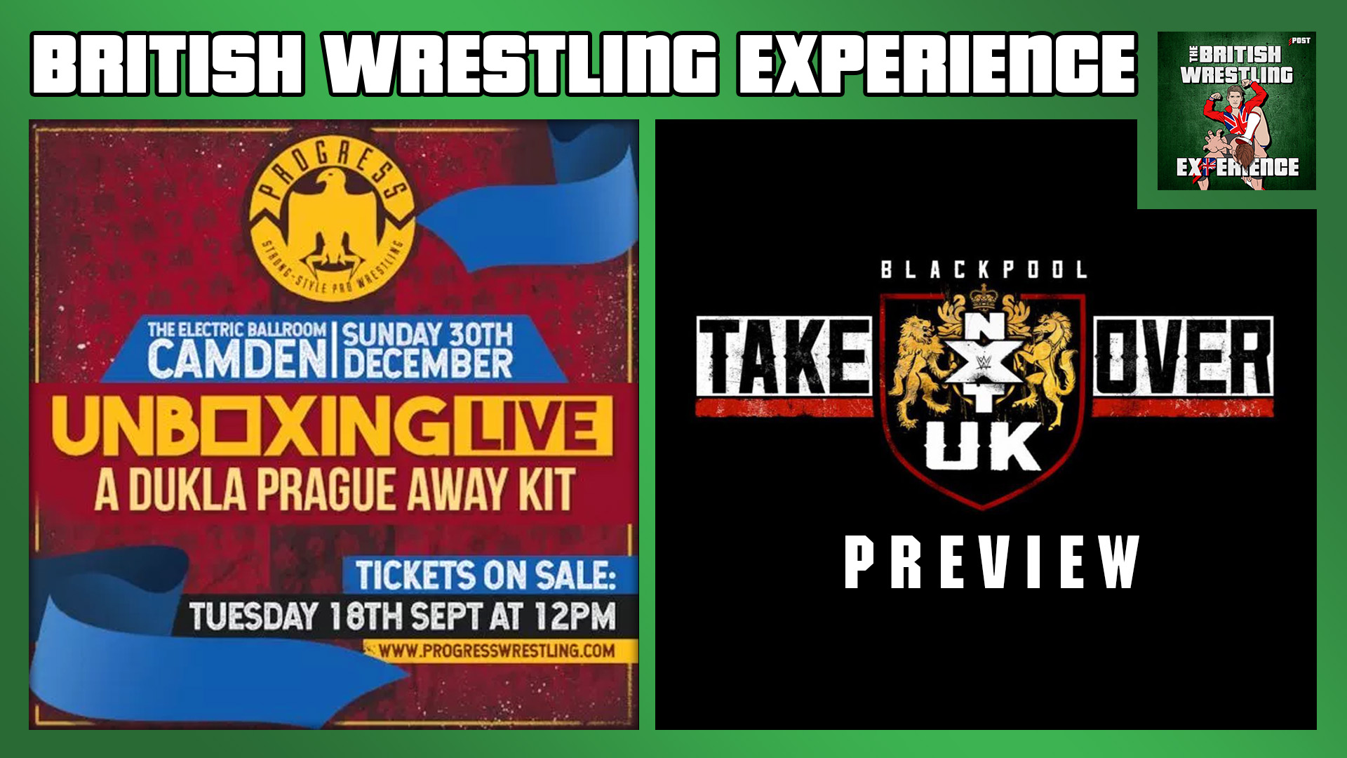 BWE 1/9/19: Progress Unboxing 3, NXT UK TakeOver, Brits In Japan