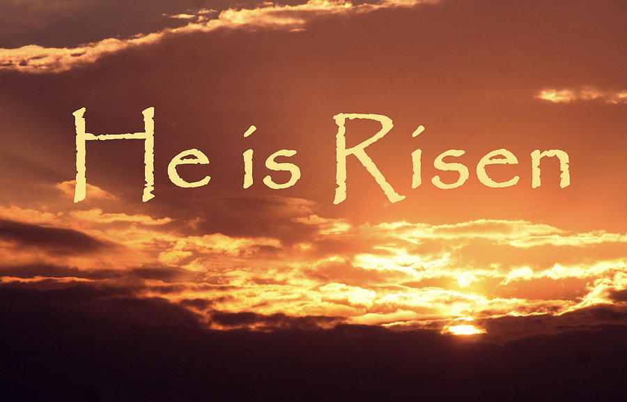 1st April 2018 Barry McMurtrie . . . He is Risen + song