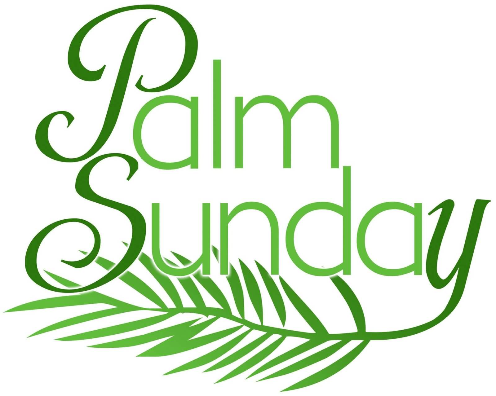 25th March 2018 Barry McMurtrie . . . Palm Sunday