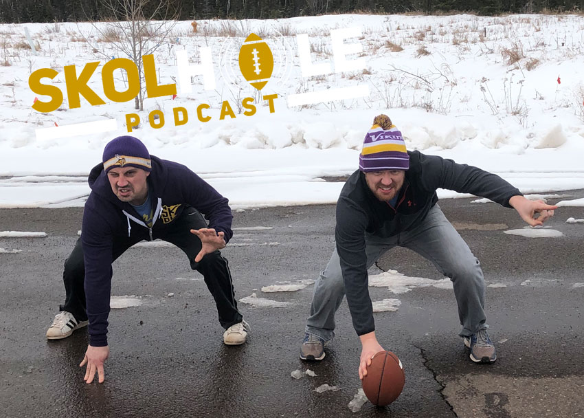 Episode 70 | Realistic options for the Vikings when it comes to offensive line and the NFL Draft