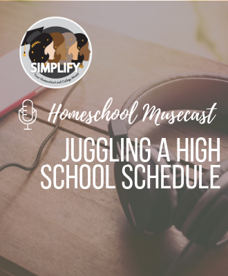 Juggling A High School Schedule