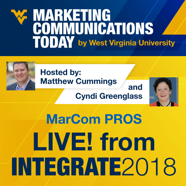 Integrated and Data-Driven Marketing at Integrate WV 2018